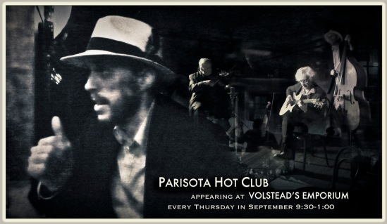 Parisota Hot Club every Thursday in September