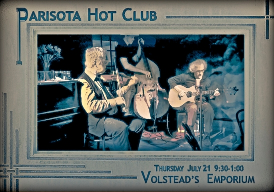 Parisota Hot Club at Volstead's Emporium