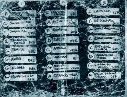 PHC Zinc Bar Set List 2002
