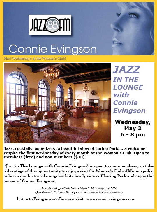 Connie Evingson & Parisota Hot Club May 2nd