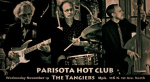 Parisota Hot Club at The Tangiers November 19 2014